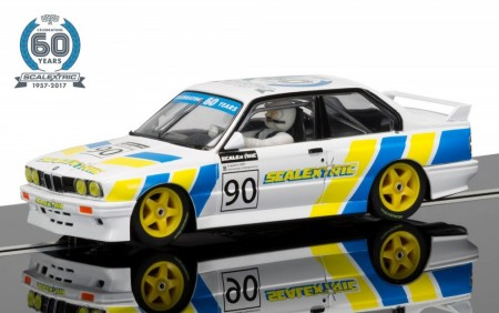 Scalextric bil 1:32 60th Anniversary Collection Car 1990s BMW E30 M3