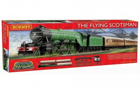 Hornby Togbanesett The Flying Scotsman DCC Ready