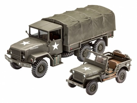 Revell 1/35 M34 Tactical Truck and Off-Road Vehicle