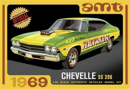 AMT 1/25 Chevelle SS 396 1969