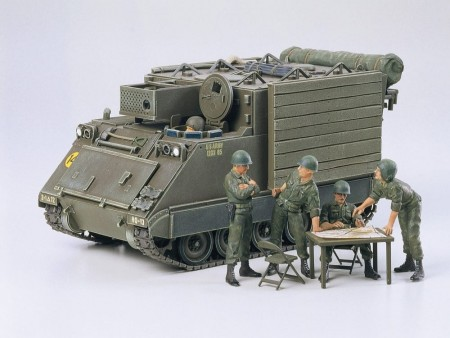 Tamiya 1/35 US Armored Command Post Car M577