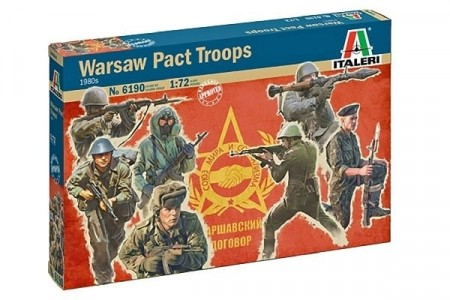 Italeri 1/72 Warsaw Pact Troops 1980s