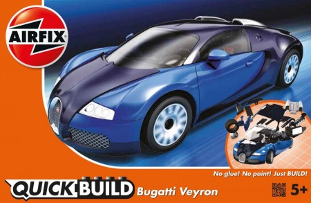 Airfix QUICK BUILD Bugatti Veyron J6008