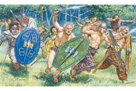 Italeri 1/72 Gaul Warriors 1st-2nd Century B.C
