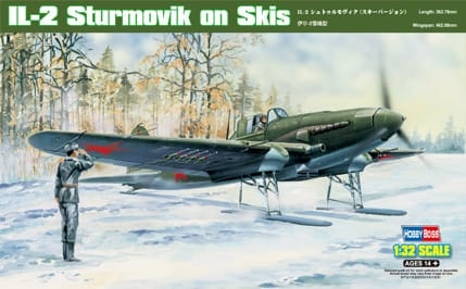 HobbyBoss 1/32 IL-2 Sturmovik on Skis