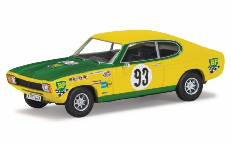 Corgi 1/43 Ford Capri 2300GT Mk1 - 1969 Tour de France Automobile