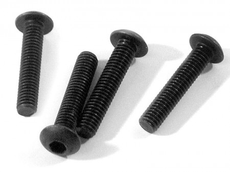 Z216 HPI Button Head Screw M3x15mm (Hex Socket/4 stk.)