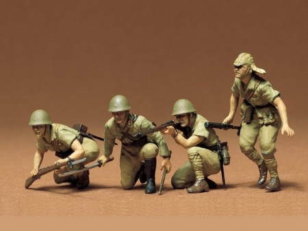 Tamiya 1/35 Japanese Army Infantry