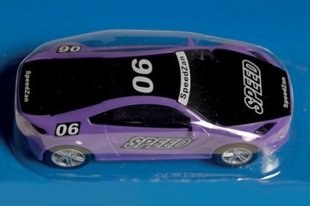 SpeedZan bil 1/43 Speed Purple Racer