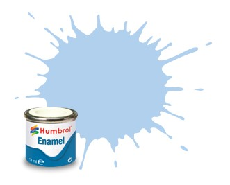 Humbrol Enamel No 44 Pastel Blue - Matt 14ml