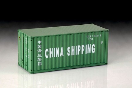 Italeri 1/24 Shipping Container 20 Ft.