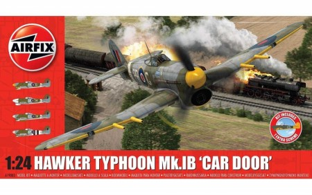 Airfix 1/24 Hawker Typhoon Mk.IB Car Door - with German Scheme