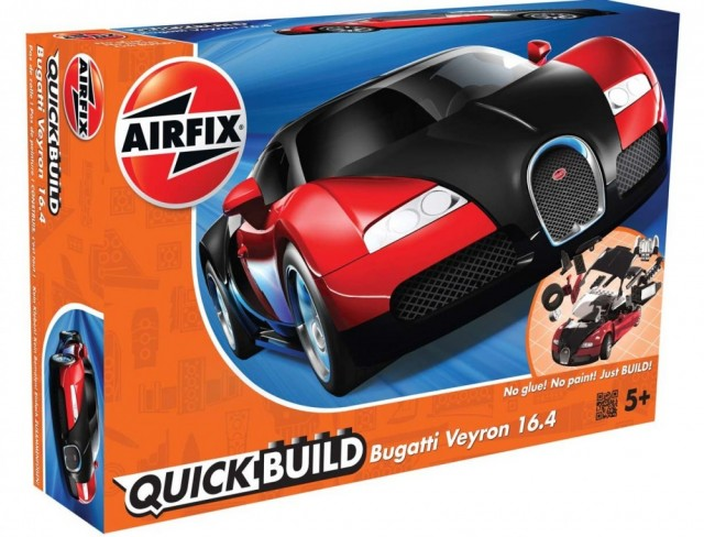 Airfix QUICK BUILD Bugatti Veyron 16.4