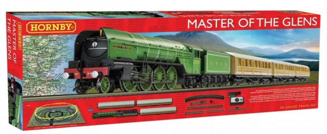 Hornby H0 1/87 Togbanesett Master of the Glens DCC Ready