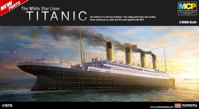 Academy 1/400 R.M.S Titanic The White Star Liner