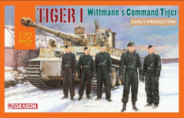 Dragon 1/72 Michael Wittman´s Tiger I Early Production