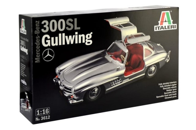 Italeri 1/16 Mercedes-Benz 300SL Gullwing